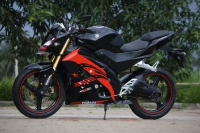 Modifikasi Yamah V-ixion