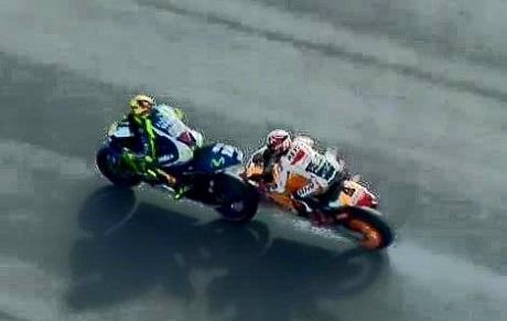 Rossi vs Marquez-2
