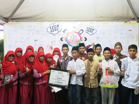 Aktivitas outdoor Charity Campaign Online Y2C (Yamaha Youth Community) (1)