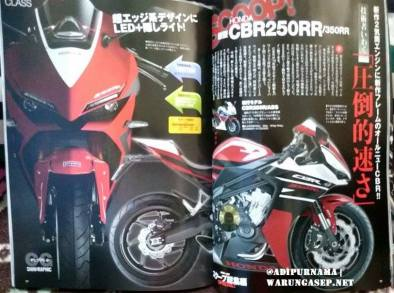 renderan all new cbr 250 2 silinder