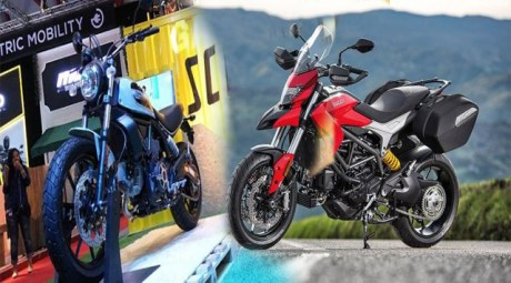 Motor Adventure Motor Ducati Vs Motor BMW