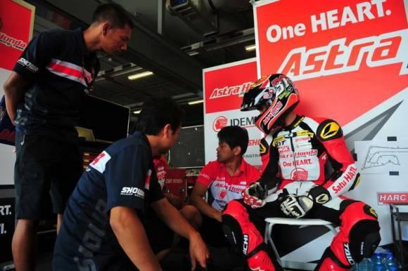 Gerry Gagal ikut Race 2 AARC Thailand 2017