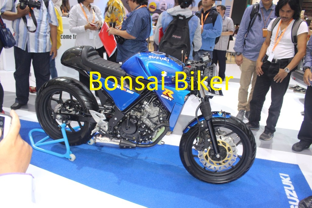 Modifikasi GSX-R150 ala Cafe Racer (1)