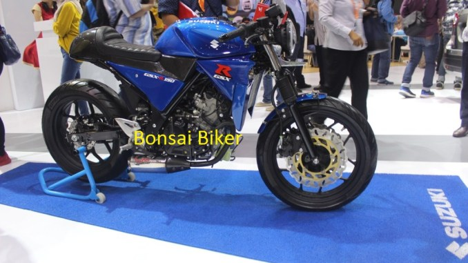 Modifikasi GSX-R150 ala Cafe Racer (3)