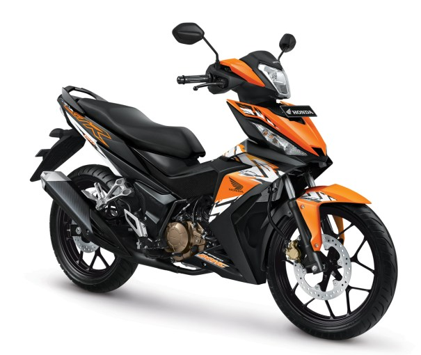New Honda Supra GTR150-Nitric Orange