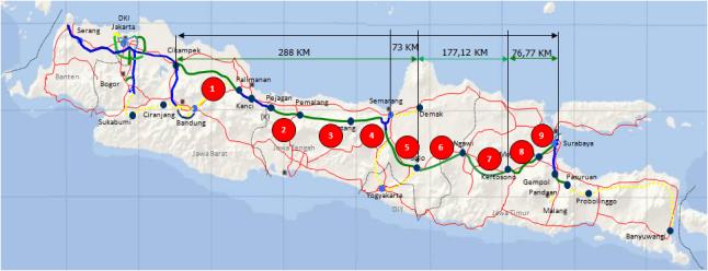 Tol Trans Jawa akan Terbentang dalam 1.000 Kilometer