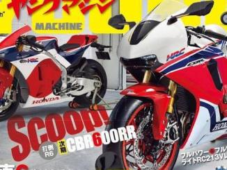 Young Machine Beberkan Sosok New CBR600RR 2017