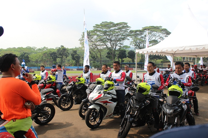 Serunya Safety Riding Training Bersama Suzuki si Sentul