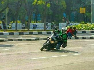 ojek online cornering monanco mode on