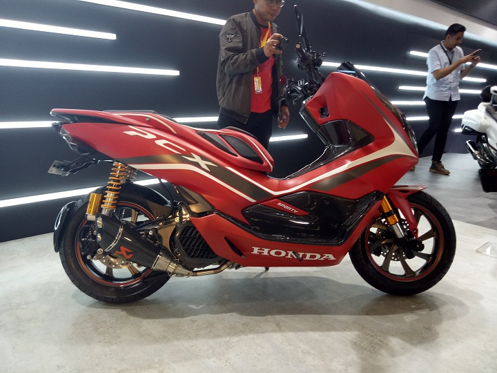 PCX Modif Red Sporty