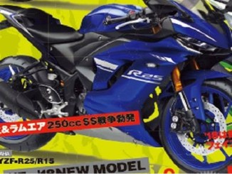 motor Yamaha R 25 Face lift