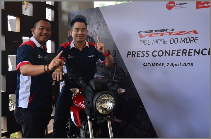 acara Launching All New Honda CB150 Verza di Mall Karawang Central Plaza