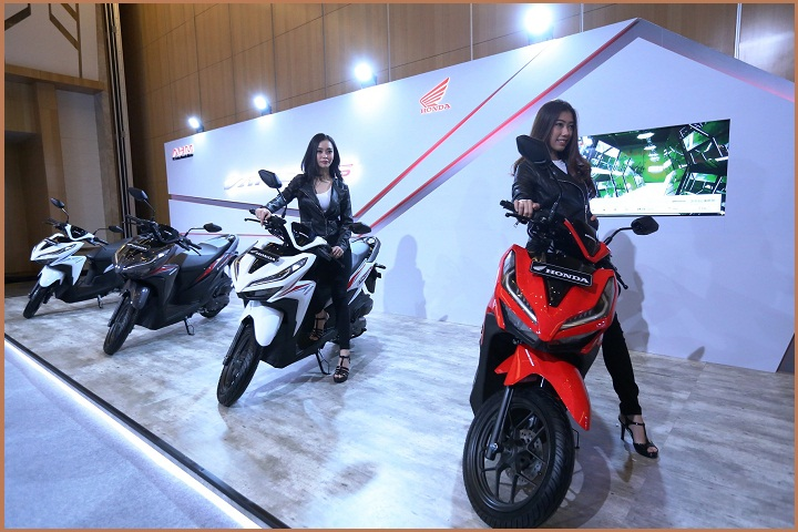 model baru All New Honda Vario 150 dan All New Honda Vario 125