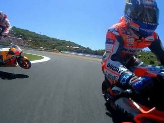 crash Pedrosa vs Lorenzo vs Dovi di Jerez