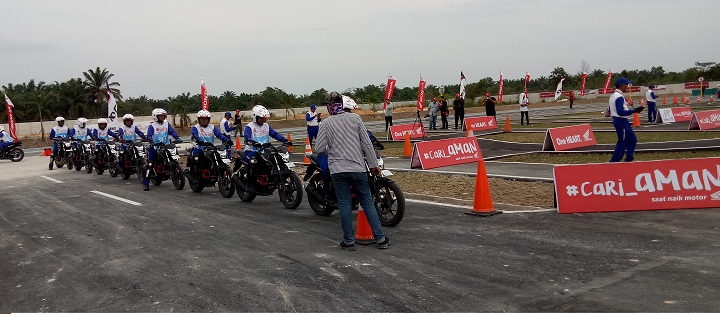 Gallery Foto The 12th Astra Honda Safety Riding Instructor Competition (AH-SRIC) 2018 Day 1