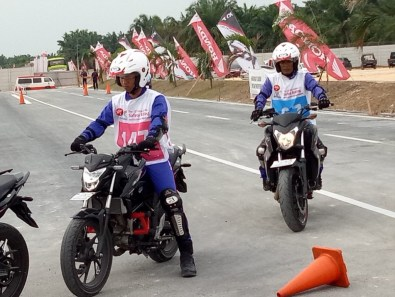 Mega Gallery Foto The 12th Astra Honda Safety Riding Instructor Competition (AH-SRIC) 2018 Day 1 (22)