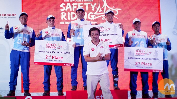 The 12th Astra Honda Safety Riding Instructor Competition (AH-SRIC) 2018 1