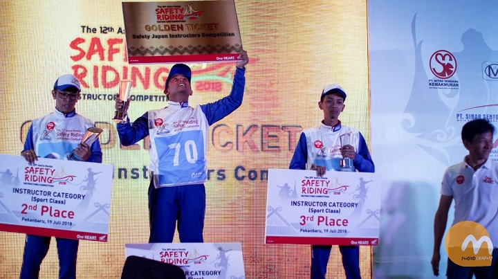 The 12th Astra Honda Safety Riding Instructor Competition (AH-SRIC) 2018 2