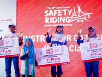 The 12th Astra Honda Safety Riding Instructor Competition (AH-SRIC) 2018 5