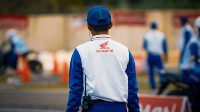 The 12th Astra Honda Safety Riding Instructor Competition (AH-SRIC) 2018 Slalom (1)