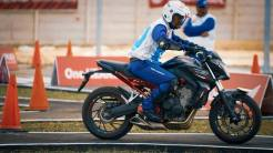 The 12th Astra Honda Safety Riding Instructor Competition (AH-SRIC) 2018 Slalom (10)