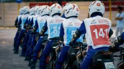 The 12th Astra Honda Safety Riding Instructor Competition (AH-SRIC) 2018 Slalom (2)