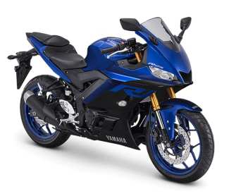 New Yamaha YZF-R25 2019 Face Lift blue