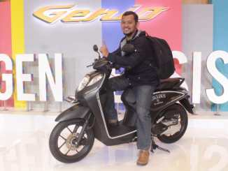 Test Ride Honda Genio 110