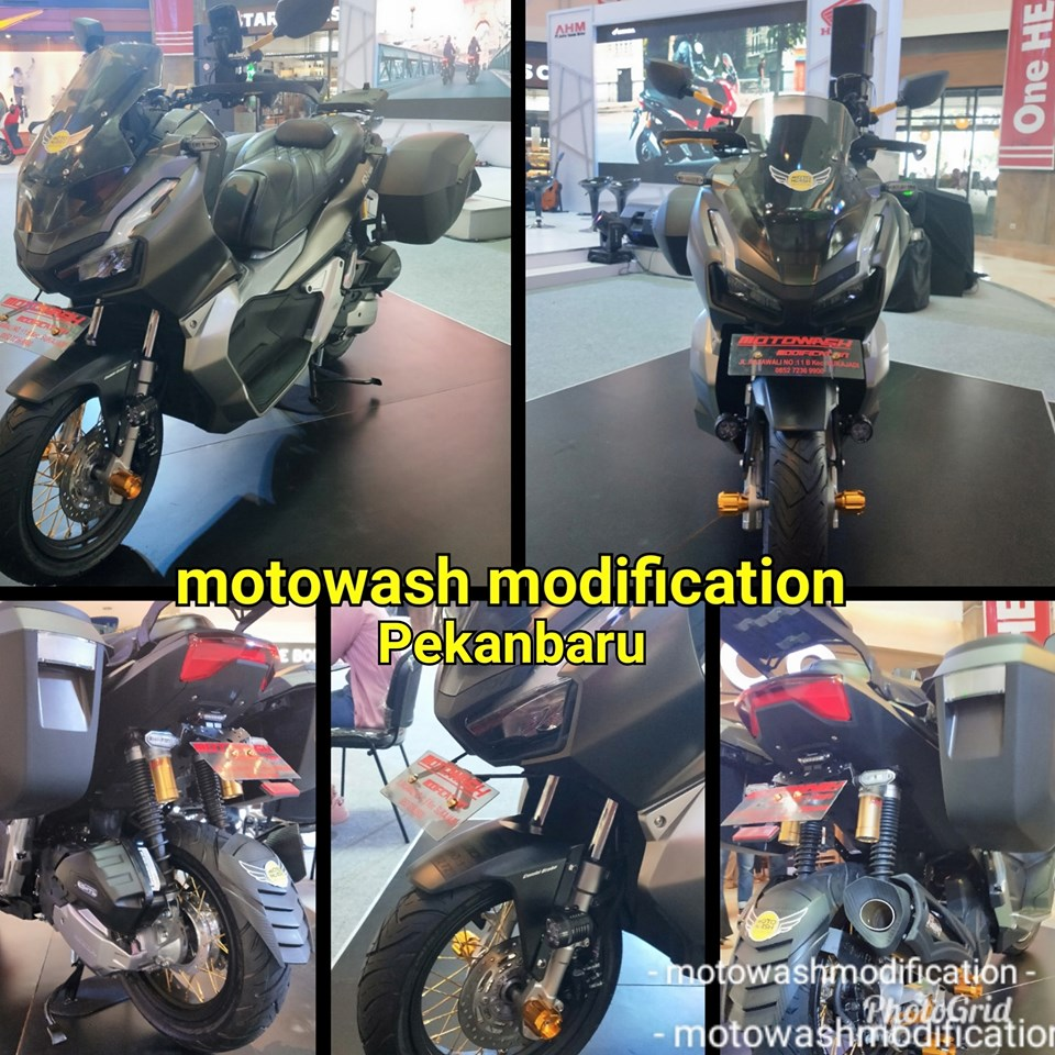 Honda Adv 150 Modif By Motowash Modification Pekanbaru Bonsaibiker