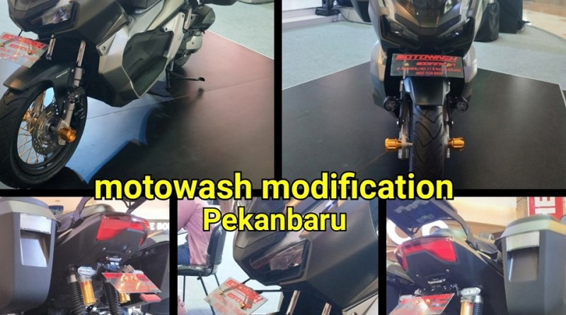 Honda-ADV-150-Modif-by-Motowash-Modification-riau