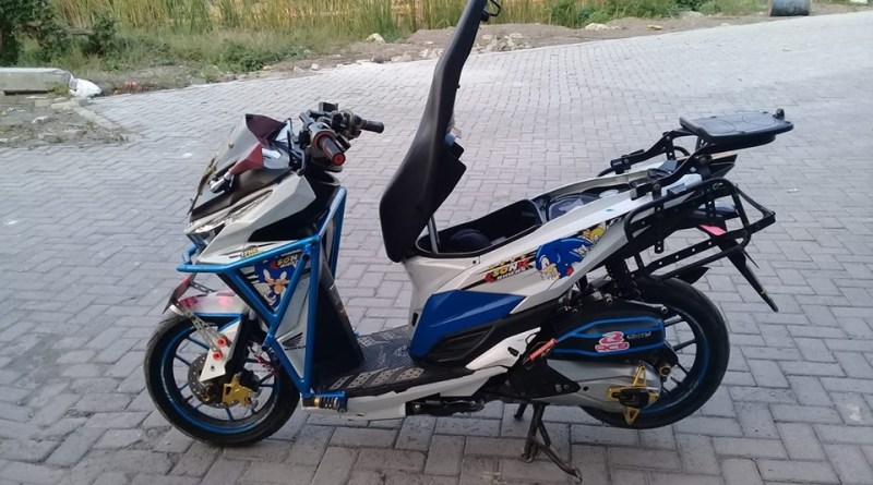 Modifikasi Vario Main Kelir dan Body Protektor