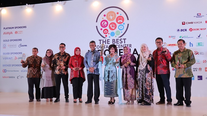 AHM Raih 15 Penghargaan Contact Center 2019