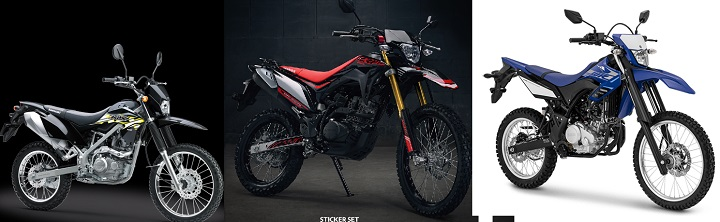Komparasi KLX 150 vs CRF 150 vs WR 155R,