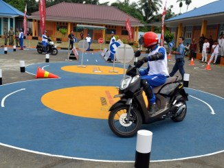 Yayasan AHM Resmikan Safety Riding Lab