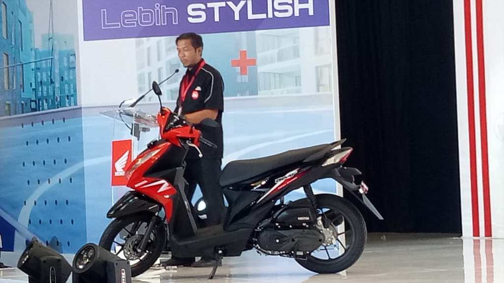 Mega Gallery Foto dan Vidio New Honda Beat 2020 Saat Launch