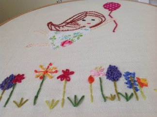 Embroidery picture
