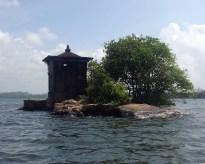 Smallest Island in the Madu River, Sri Lanka