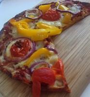 Cauliflower Wheat-Free Pizza|Bonsai Hewes