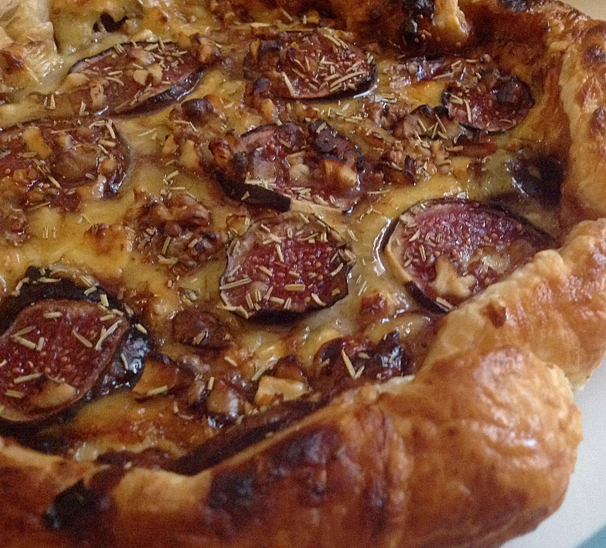 Fig and Camembert Tart | Recipe