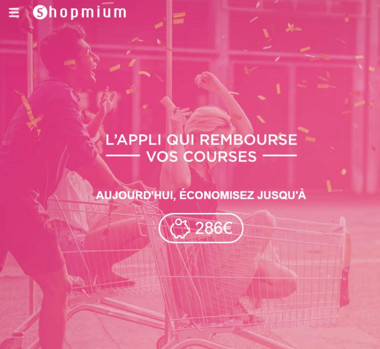 Read more about the article Application Shopmium : l'appli qui rembourse vos courses