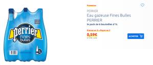 Erreur de prix chez Carrefour sur le perrier