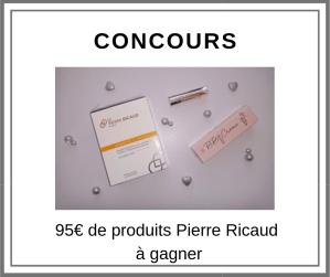 Concours 95€ de produits Pierre Ricaud à gagner