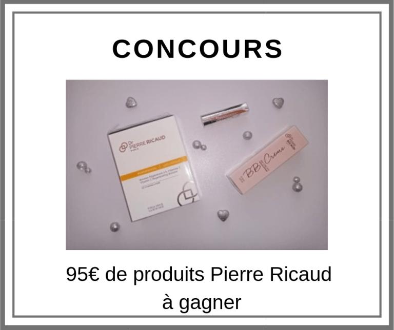 Read more about the article Concours 95€ de produits Pierre Ricaud à gagner