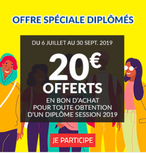 Opération «jeunes diplômés» chez But : 20€ offert