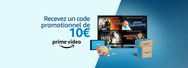 Read more about the article 10€ de chèque cadeaux offert par Amazon juste en regardant une vidéo