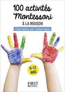 Petit livre de – 100 activités Montessori à la maisonà 2.99€