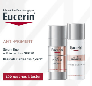 You are currently viewing Test de soins anti-taches de la gamme ANTI-PIGMENT des Laboratoires Dermatologiques Eucerin