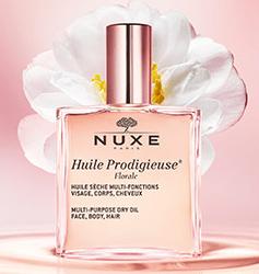 Echantillon Huile Prodigieuse® Florale de Nuxe