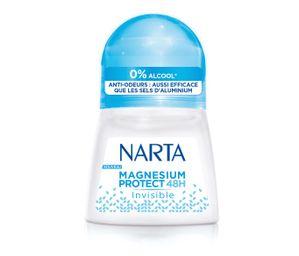 Test Déodorant bille Magnésium Protect de Narta ( au Féminin )