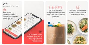 Read more about the article Jow : courses et recettes sur une appli